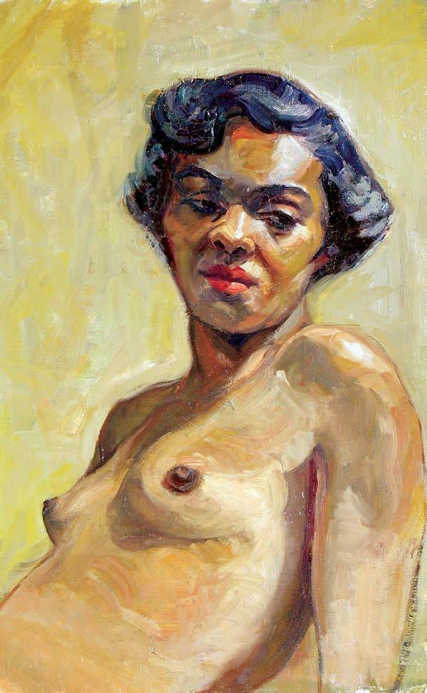 474: Eleanor DeHaas (American 1912-1999) Portrait