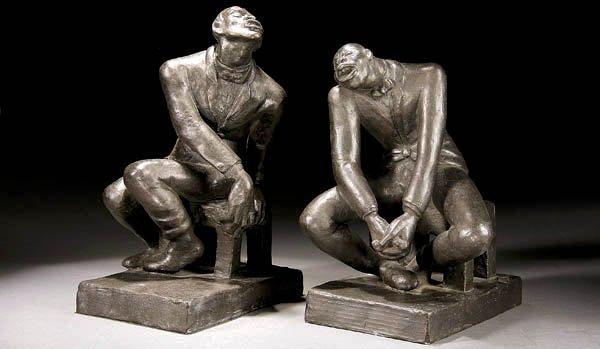 476: Helene Biddle Sardeau (American 1899-1969) Black