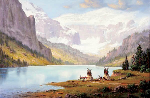 482: HEINIE HARTWIG (American b.1937-) Indian