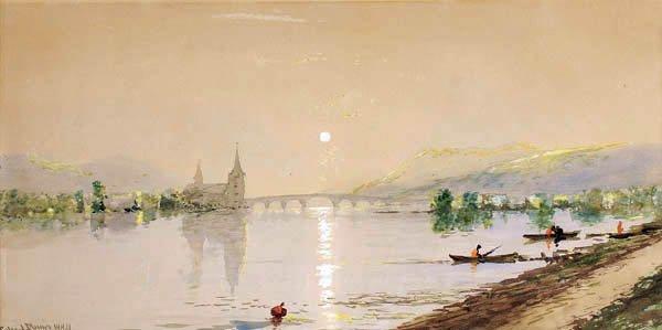 483: Edmund Darch Lewis (American 1835-1910) Lakeside