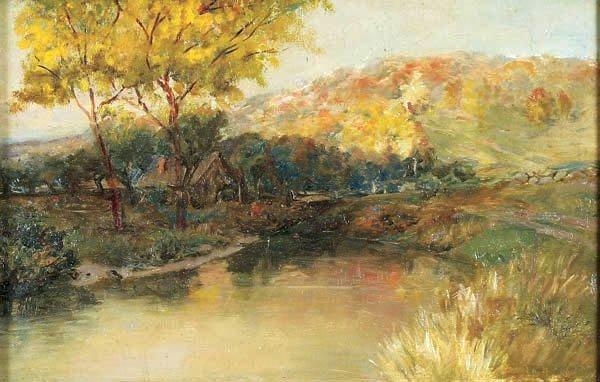485: Lucien A. Davison (American b. 1872) Landscape