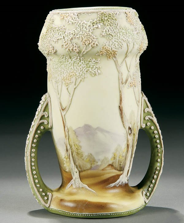 "7: A NIPPON ""GALLE"" MORIAGE VASE"