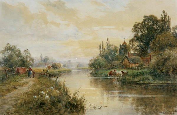 720: Henry J. Kinnaird (British act. 1880-1920) Thames