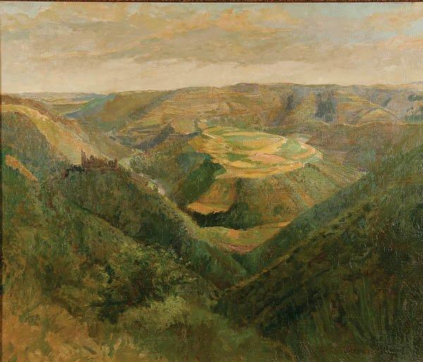 723: Hurbert Ritzenhofer  (German 1879-1961) Expansive