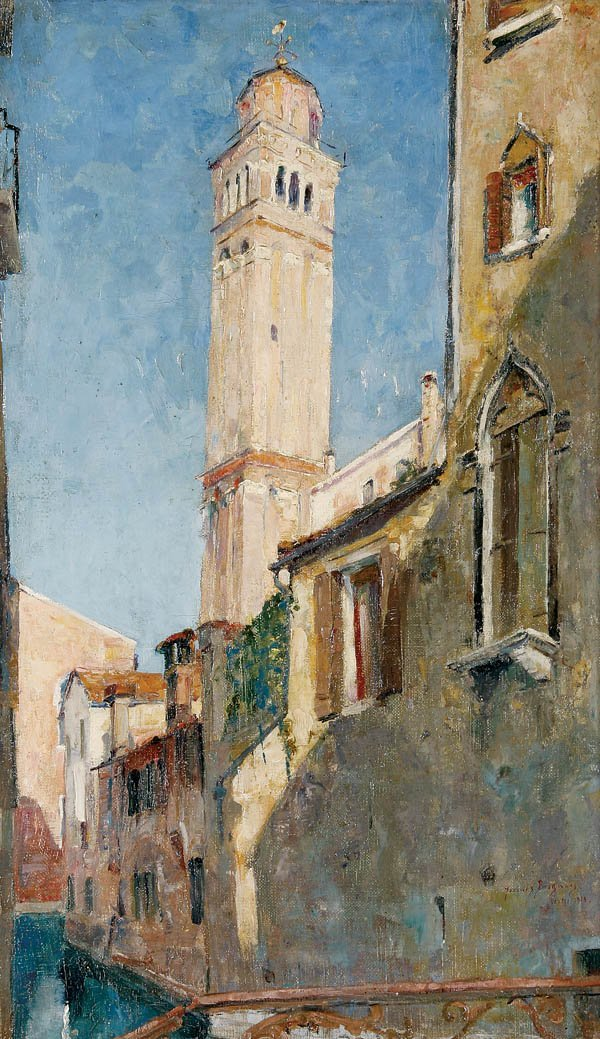 728: Jacques Bergmans (Belgian 1891-1959) Venice--1923