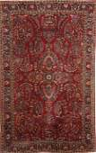 1190 A GOOD PERSIAN SAROUK HANDWOVEN RUG circa 1930s
