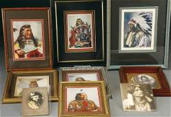 1295 NATIVE AMERICAN PHOTOGRAPHS AND PRINTS