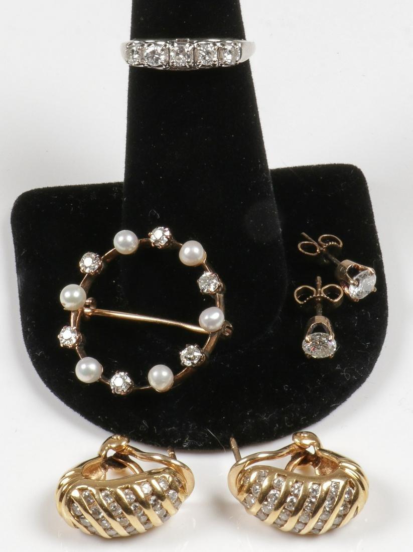 ESTATE GOLD & DIAMOND JEWELRY