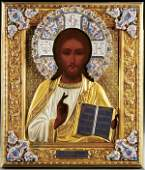 232 AN EXCEPTIONAL RUSSIAN ICON The Lord Almighty c
