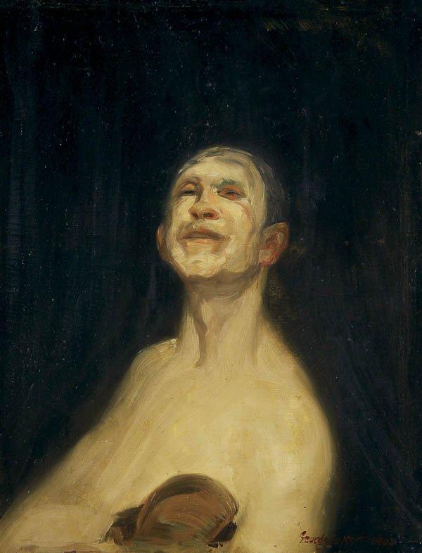 559: GEORGE BENJAMIN LUKS (American 1867-1933) The Ten