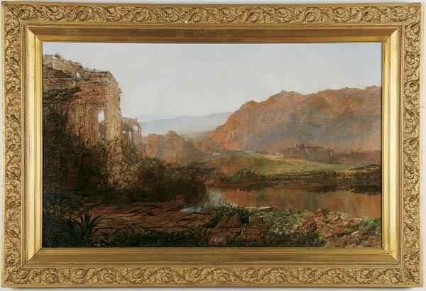 561: WILLIAM LOUIS SONNTAG SR. (American 1822-1900) It