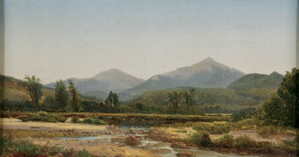 562: HARRISON BROWN (American 1831-1915) New Hampshire