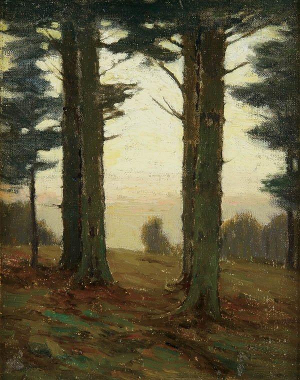 564: CHARLES WARREN EATON (American 1857-1937) Forest