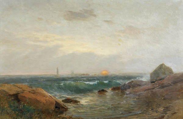 565: SAMUEL LANCASTER GERRY (American 1813-1891) Seasc