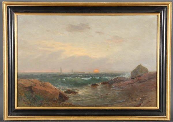 565: SAMUEL LANCASTER GERRY (American 1813-1891) Seasc - 4