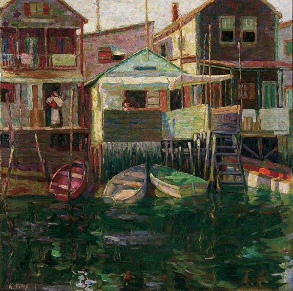 568: KAROLY FULOP (Hungarian/American 1893-1963) Along