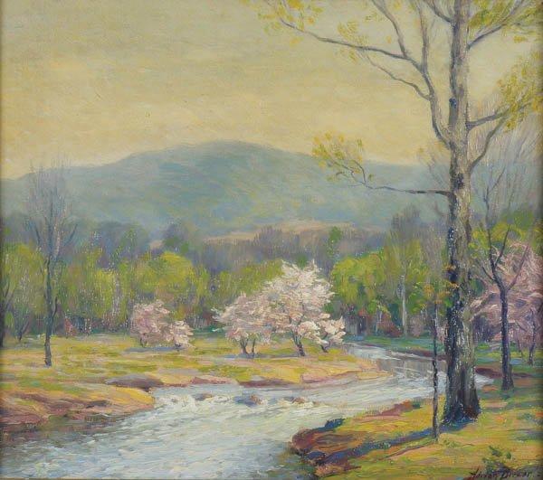569: ADRIAN LOUIS BREWER (American 1891-1956) Spring L