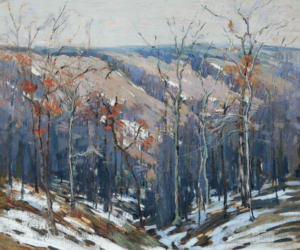 570: PETER BELA MAYER (American 1887-1992) Winter Ligh
