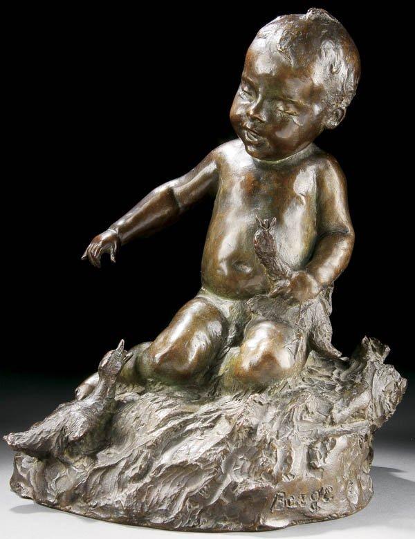 574: EDWARD HENRY BERGE (American 1876-1924) A Figural