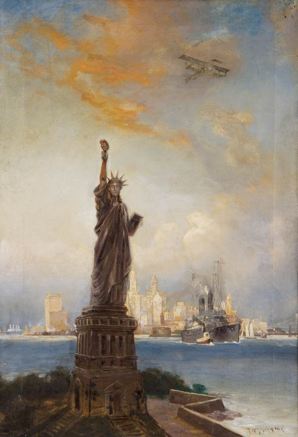 577: ROBERT ATKINSON FOX (American 1860-1935) New York