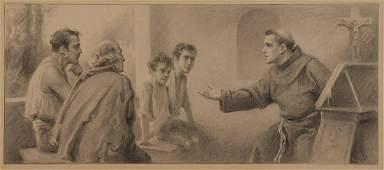THREE ORIGINAL ILLUSTRATIONS BY C.B. CHAMBERS