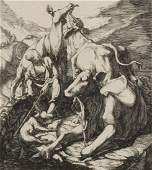 VERY FINE ETCHING BY CM SCHULTHEISS
