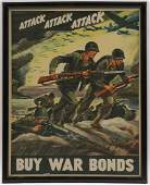 GREAT WWII + WWI POSTER LOT