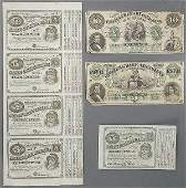 531 LOUISIANA CONFEDERATE NOTE AND BOND COLLECTION co