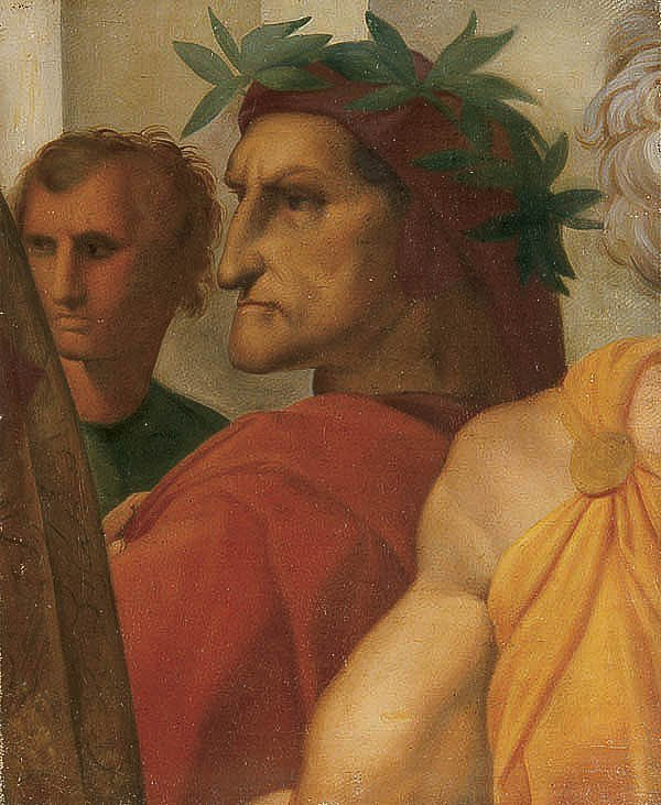 660: OIL PAINTING, after Raphael, religious