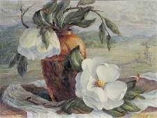 855: OIL PAINTING Ora Nelson Taylor, floral stil life