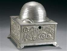 1084 A WILLIAMS  CO CAST IRON BEEHIVE BANK FOR CHICA