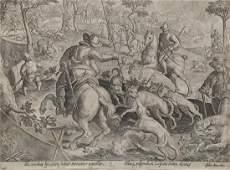 13 OLD MASTER ETCHINGS & ENGRAVINGS, C. 1530