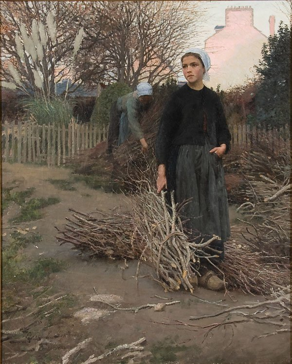 1: Painting, Edward Simmons (American) genre