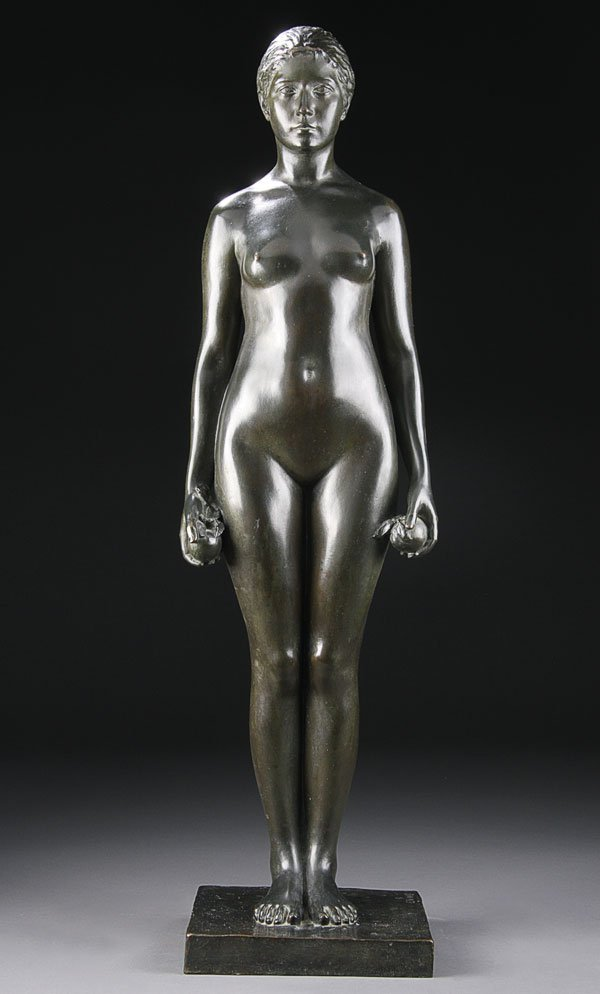 4: Bronze, Rudolph Evans (American) Eve