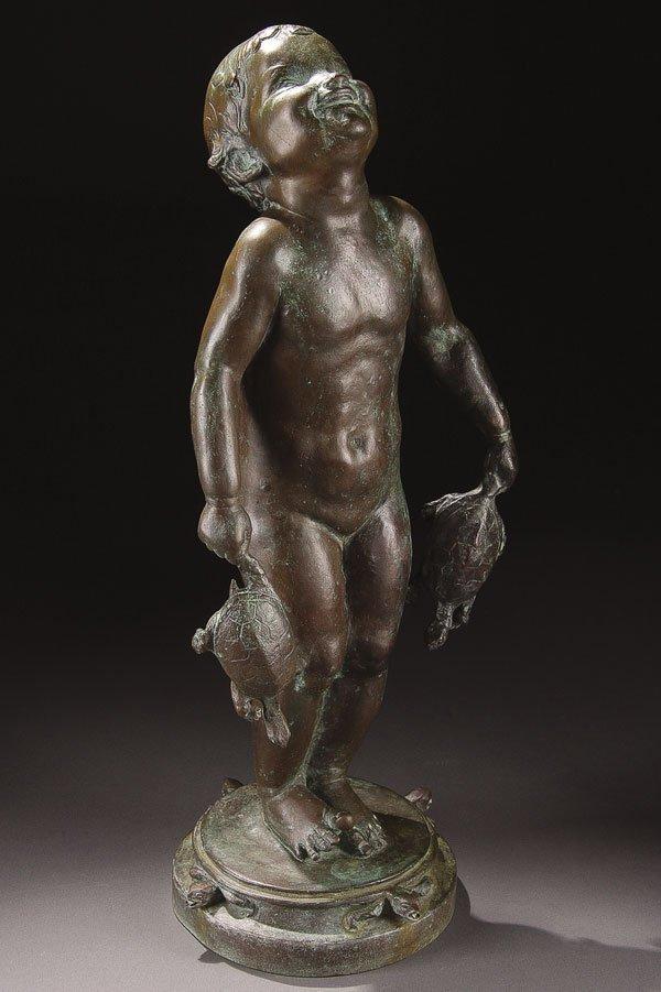 5: Bronze, Edith Parsons (American) Turtle Baby