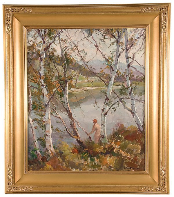 8: Painting, Emile Gruppe (American), Landscape