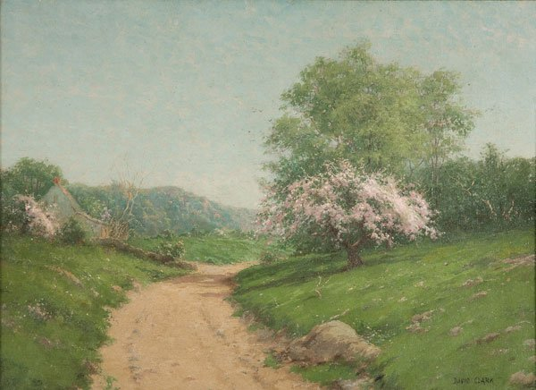 10: Painting, David Clark (American) Landscape
