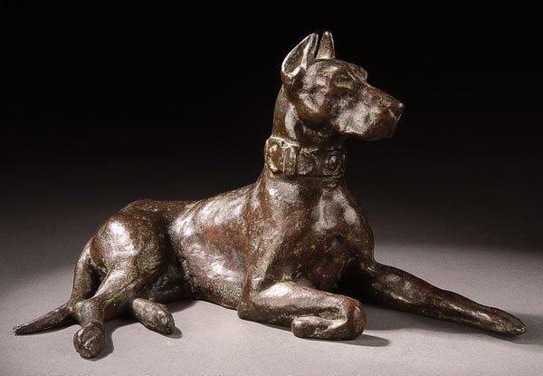 14: Bronze, Edward Sanford Jr (American) Dog