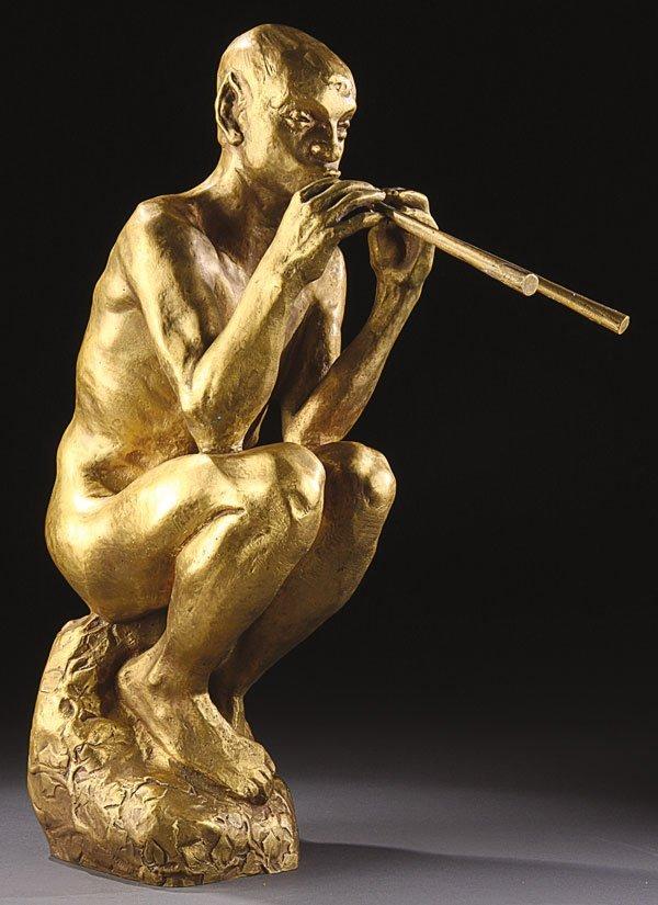 15: Bronze, Charles Rumsey (American) Pan