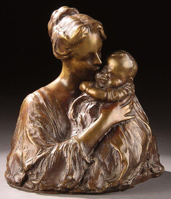 16: Bronze, after Bessie Potter Vonnoh (Ameircan)