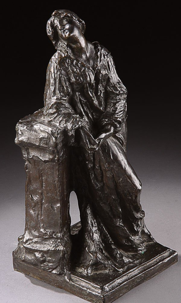 17: Bronze, Giuseppe Grande (Italian) Woman