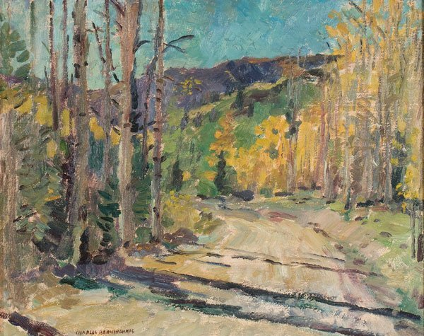 18: Painting, Charles Berninghaus (American) Landscape