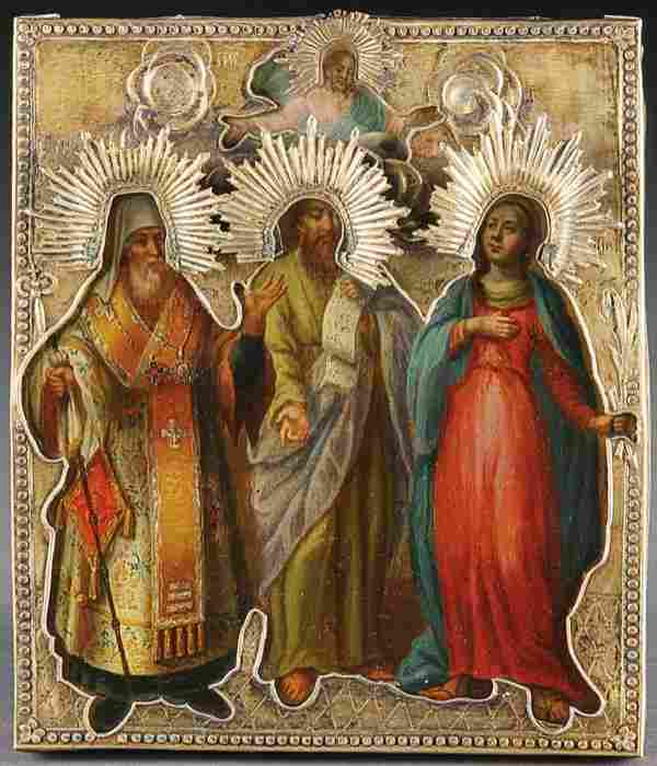 A Russian Icon: Selected Saints