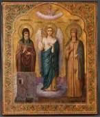 116: A Russian Icon: Selected Saints