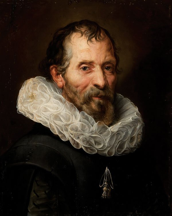 249: Old Master painting, Rubens, Portrait