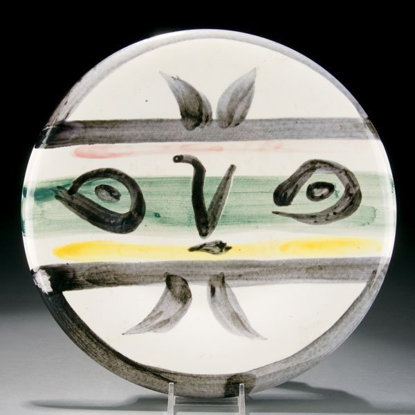 469: Picasso earthenware plate