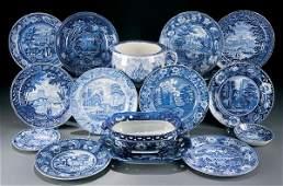 614: Staffordshire Transferware Ceramic Group