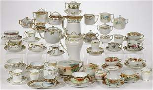 60 PIECES OF NIPPON PORCELAIN