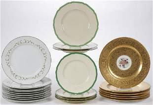 PORCELAIN DINNER PLATES