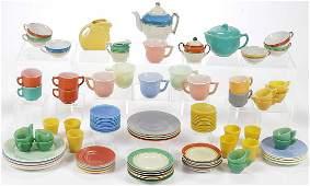 LARGE VINTAGE CHILDREN'S TEA SETS